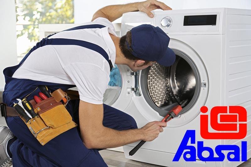 تعمیرات ماشین لباسشویی آبسال