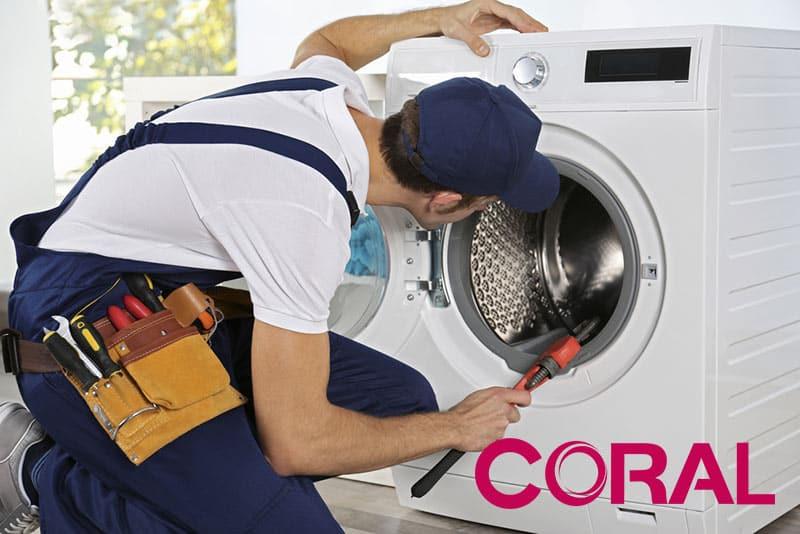 تعمیرات ماشین لباسشویی کرال