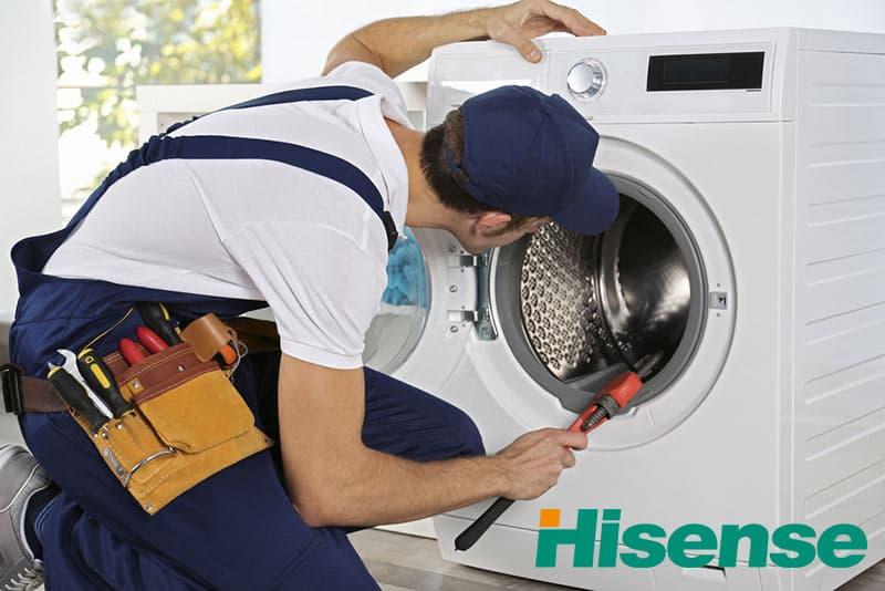 تعمیرات ماشین لباسشویی هایسنس