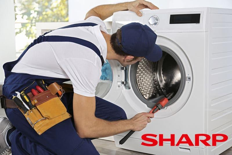 تعمیرات ماشین لباسشویی شارپ