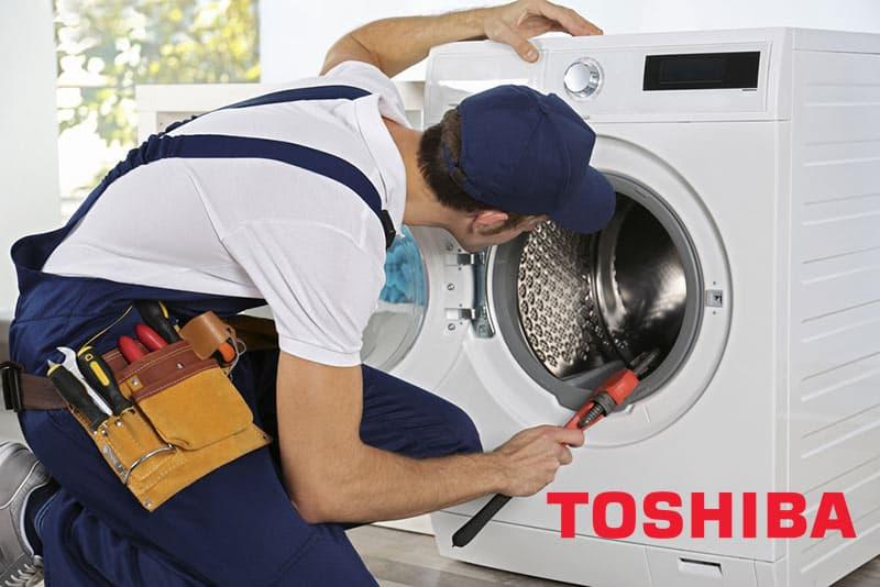 تعمیرات ماشین لباسشویی توشیبا