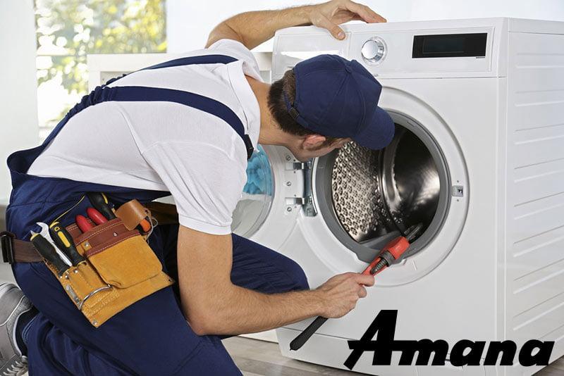 تعمیرات ماشین لباسشویی آمانا