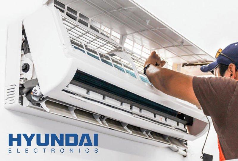 تعمیرات کولر گازی اسپلیت هیوندای