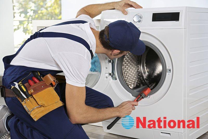 تعمیرات ماشین لباسشویی ناسیونال