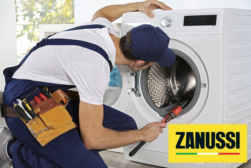 تعمیرات ماشین لباسشویی زانوسی